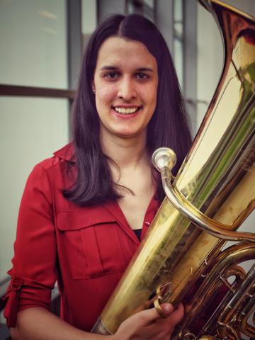 ANNA MARIA GUGGENBERGER, Tuba